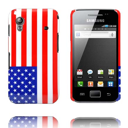 US Flag Samsung Galaxy Ace Skal