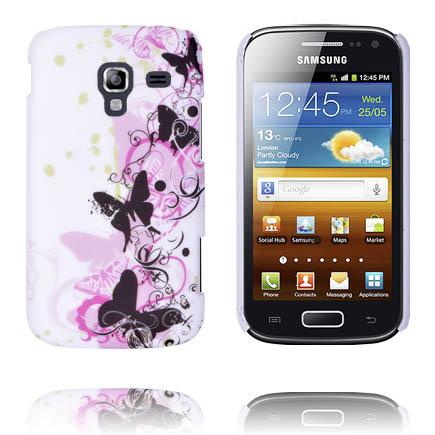 Valentine (Svarta Fjärilar) Samsung Galaxy Ace 2 Skal