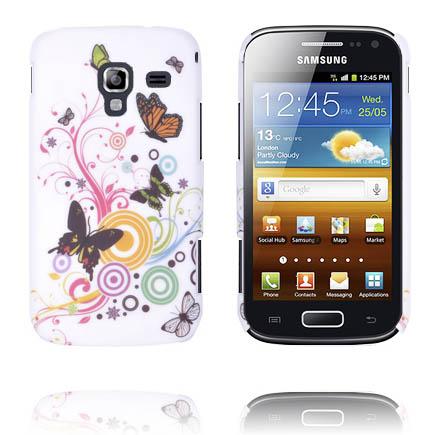 Valentine (Fjärilar & Cirklar) Samsung Galaxy Ace 2 Skal