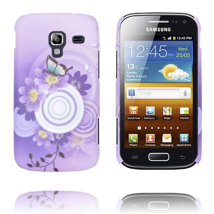 Valentine (Lila Sky – Vit Cirkel) Samsung Galaxy Ace 2 Skal