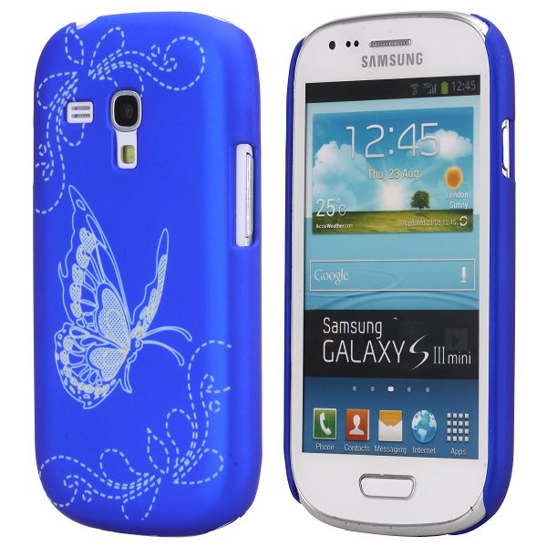 Joy (Blå) Samsung Galaxy S3 Mini Skal