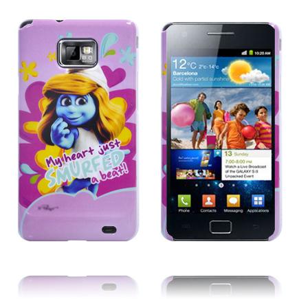 Samsung Galaxy S2 Smurf Skal (Smurfan)
