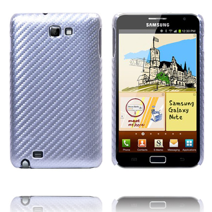 Carbonite (Silver) Samsung Galaxy Note Skal
