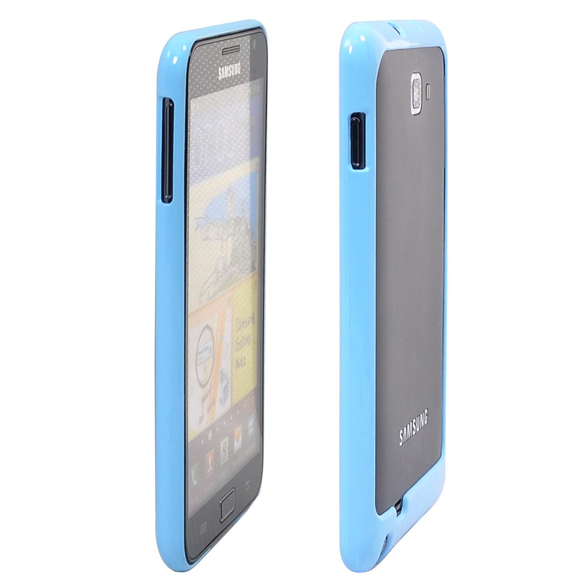 Hard Bumper för Note (Ljusblå) Samsung Galaxy Note Bumper