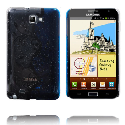 Four Seasons (Vit & Blå) Samsung Galaxy Note Skal
