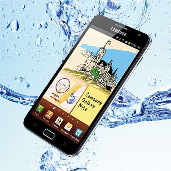 Full Body Vattentät Samsung Galaxy Note Skal (Transparent)
