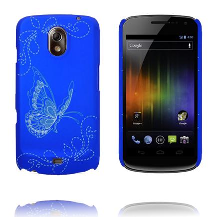 Joy (Blå) Samsung Galaxy Nexus Skal