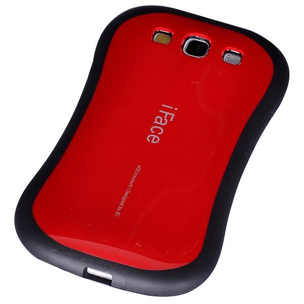 iFACE (Röd) Samsung Galaxy S3 Silikonskal