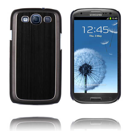 Alu Back Ver. III (Svart) Samsung Galaxy S3 Skal