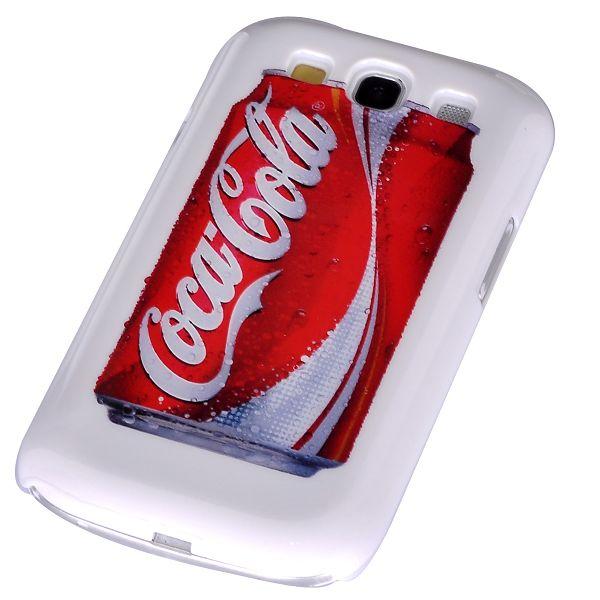iCon Skal (Coca Cola – Vit) Samsung Galaxy S3 Skal