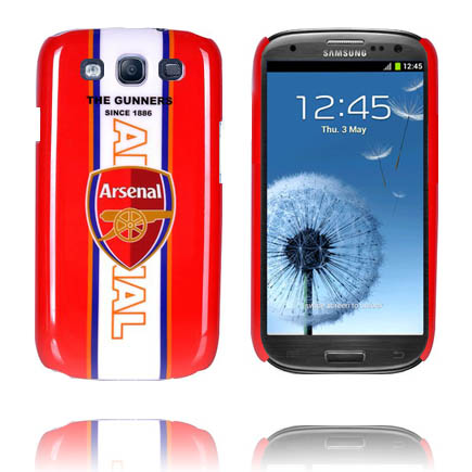 Football Fan Skal (Arsenal) Samsung Galaxy S3 Skal