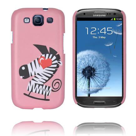 Cute Skal (Zebra) Samsung Galaxy S3 Skal