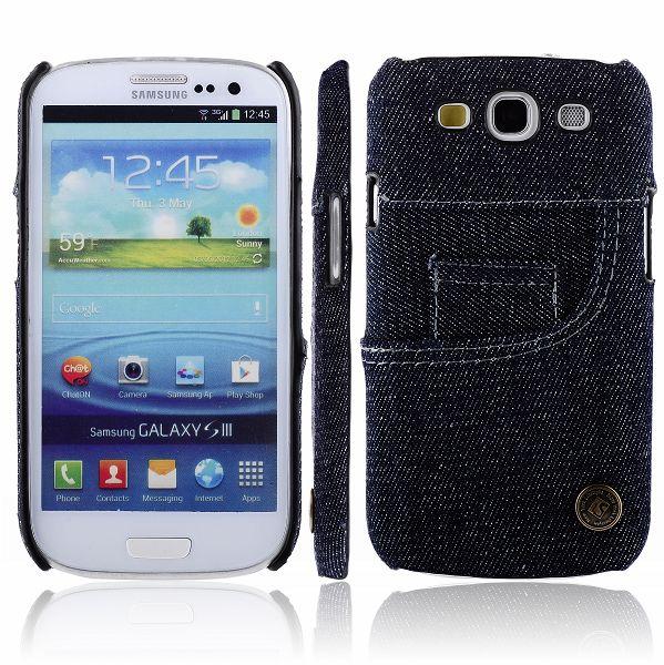 Jeans Front (Mörk) Samsung Galaxy S3 Skal