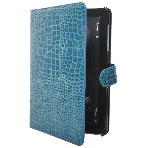 Läderfodral Stand (Blå) för Samsung Galaxy Tab 10.1 P7500