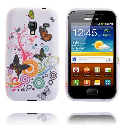 Symphony (Blandade Fjärilar & Cirklar) Samsung Galaxy Ace Plus Skal