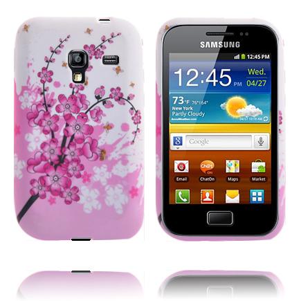 Symphony (Rosa Blommande Gren) Samsung Galaxy Ace Plus Skal