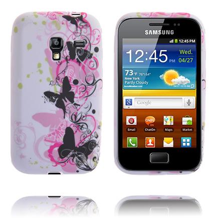 Symphony (Svarta Fjärilar) Samsung Galaxy Ace Plus Skal