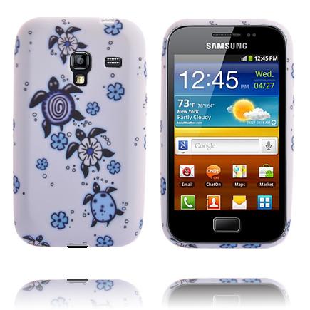 Symphony (Blå Sköldpadda) Samsung Galaxy Ace Plus Skal