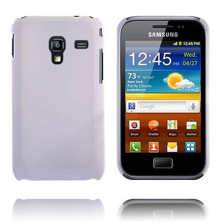 Hårdskal (Vit) Samsung Galaxy Ace Plus Skal