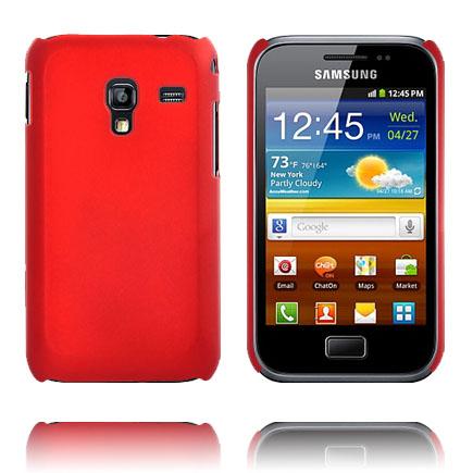 Hårdskal (Röd) Samsung Galaxy Ace Plus Skal