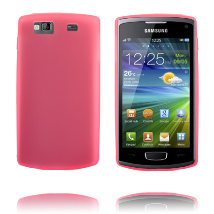 TPU Shell (Rosa) Samsung Wave 3 Skal