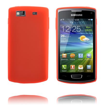 TPU Shell (Mörk Orange) Samsung Wave 3 Skal