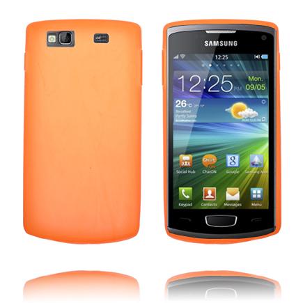 TPU Shell (Orange) Samsung Wave 3 Skal