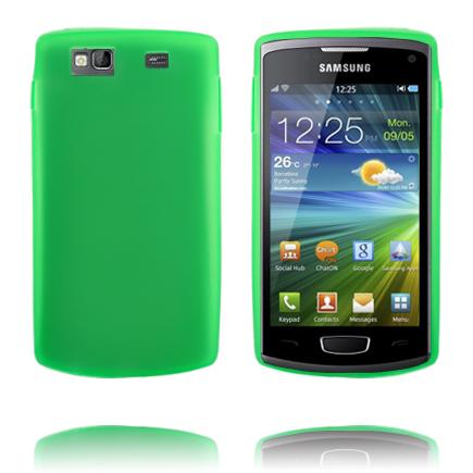 TPU Shell (Grön) Samsung Wave 3 Skal