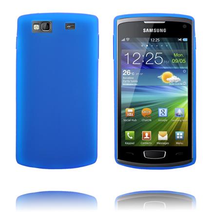 TPU Shell (Blå) Samsung Wave 3 Skal