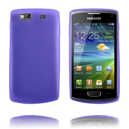 TPU Shell (Lila) Samsung Wave 3 Skal