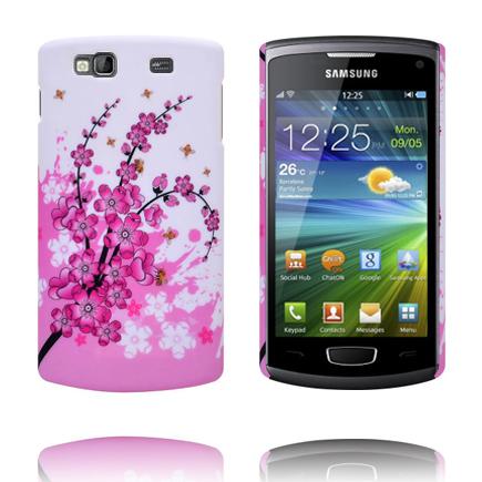 Valentine (Rosa Blommande Gren) Samsung Wave 3 Skal