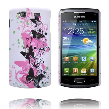 Valentine (Svarta Fjärilar) Samsung Wave 3 Skal