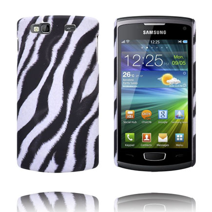 Safari Fashion (Zebra Diagonal) Samsung Wave 3 Skal