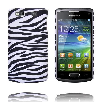 Safari Fashion (Zebra Horisontal) Samsung Wave 3 Skal