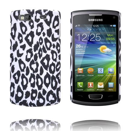 Safari Fashion (Vit Leopard) Samsung Wave 3 Skal