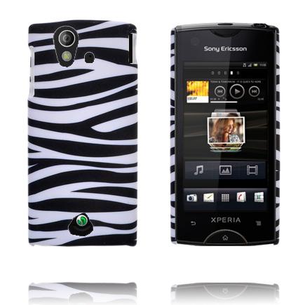 Safari Fashion (Horizontell Zebra) Sony Ericsson Xperia Ray Skal
