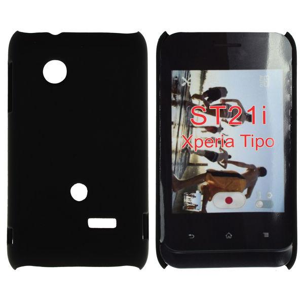 Hårdskal (Svart) Sony Xperia Tipo Skal