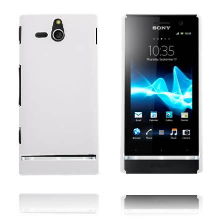 Hårdskal (Vit) Sony Xperia U Skal