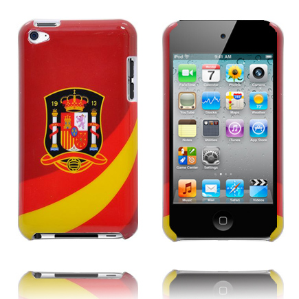 Football Fan Skal för iPod Touch 4 (Spanish National Team)