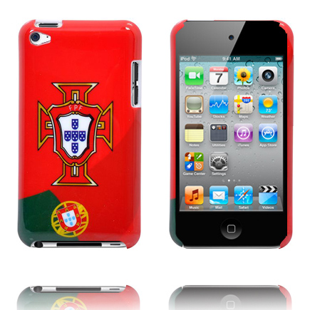 Football Fan Skal för iPod Touch 4 (Portuguise National Team)