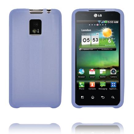 TPU Shell (Blå) LG Optimus 2X Skal