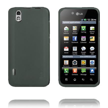 TPU Shell (Grå) LG Optimus Black Skal