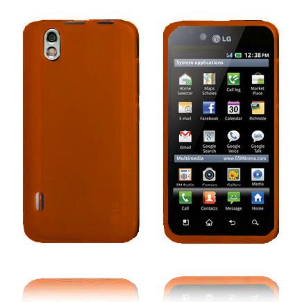 TPU Shell (Orange) LG Optimus Black Skal