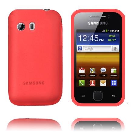TPU Shell (Röd) Samsung Galaxy Y Skal