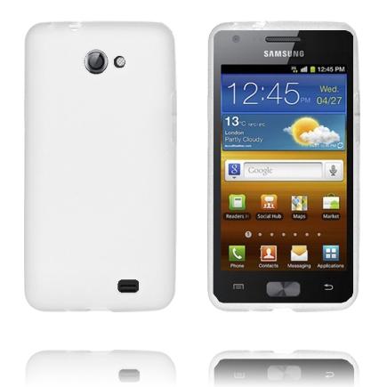 TPU Shell (Vit) Samsung Galaxy Z Skal