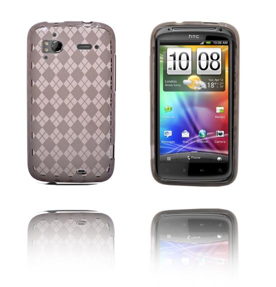 Tuxedo (Grå) HTC Sensation Silikonskal
