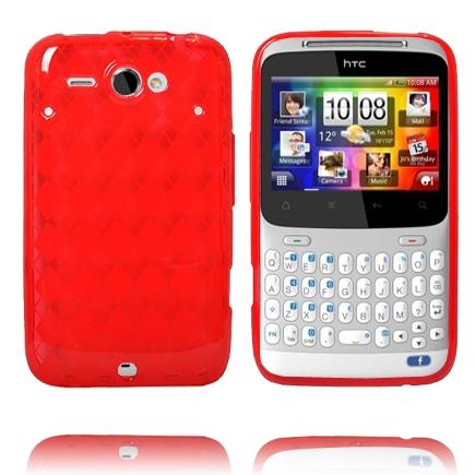 Tuxedo (Röd) HTC ChaCha Skal
