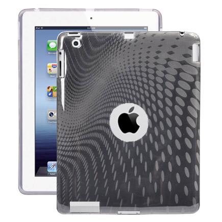 Electron Wave (Grå) iPad 3 Skal / iPad 4 Skal