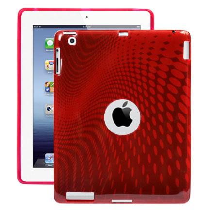 Electron Wave (Röd) iPad 3 Skal / iPad 4 Skal
