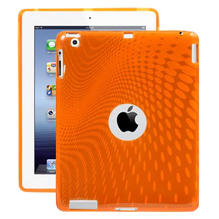 Electron Wave (Orange) iPad 3 Skal / iPad 4 Skal